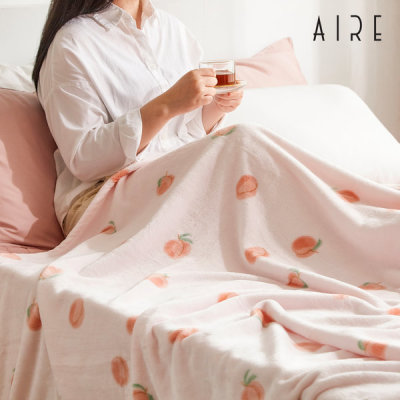 High-density Microfiber 5mm AIRE Mink Blanket/Cape Blanket
