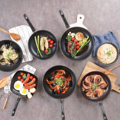 Smart frying pan all size 1+1/induction frying pan single item