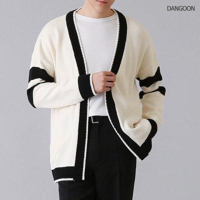 Mens cardigan / mens long cardigan / season shawl cardigan / public cardigan