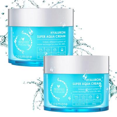 Pure Beautiful/Moisturizing Cream/200g/1+1/High-Capacity/Cosmetics