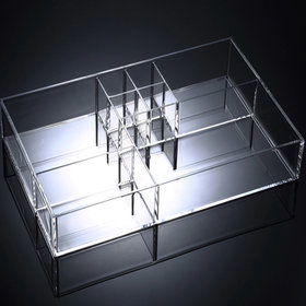 2b)직사각화장품향수정리함Rec cosmetic organizer
