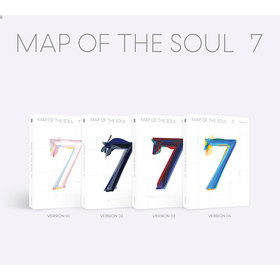 MAP OF THE SOUL : 7 (4 Ver.)+only CD