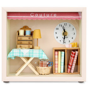 1a)돌하우스꾸띄르시계Dollhouse Couture Clock
