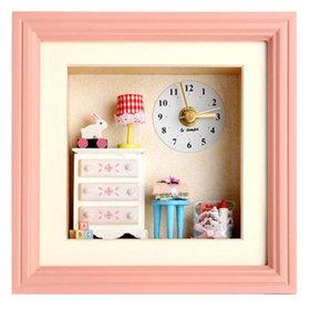 1b)돌하우스베이비룸시계Dollhouse babyroom clock