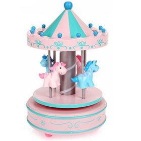 8)회전목마오르골MerryGoRound(핑크pink)