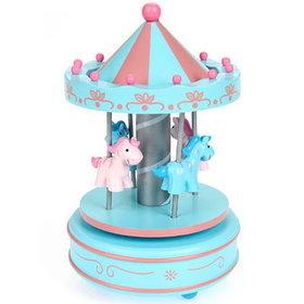 7)회전목마오르골Merry-go-round(블루blue)