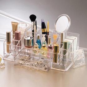 1)화장품향수보관함(대)cosmetic organizer(L)