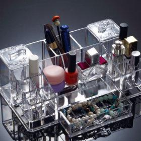 2)화장품향수보관함(대)cosmetic organizer(L)