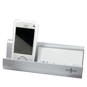 1)헤닝스핸드폰+명함홀더phone+cardstand(실버silver)
