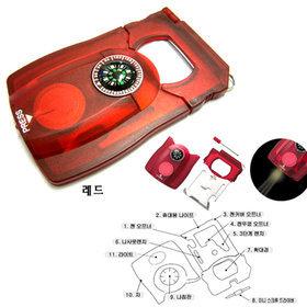 7)카드형서바이벌키트(레드)survival(red)