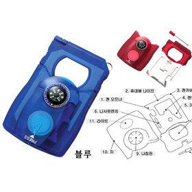 7)카드형서바이벌키트(블루)survival(blue)