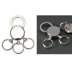 3)샤이니원형멀티열쇠고리shiny silver