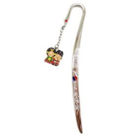 9)비녀커플책갈피(5개)couple metal bookmark(5pcs)