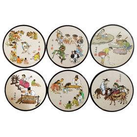 4)코스타(김홍도)coasters(kimhongdo)