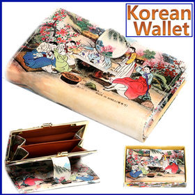 1a)민속후렌치지갑(중)tick-tock wallet(M)