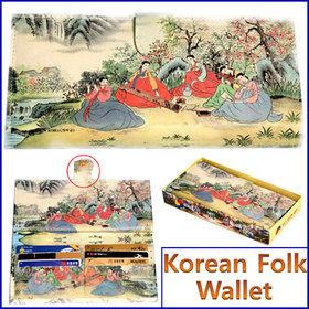 1b)민속후렌치장지갑tick-tock long wallet