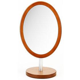 2)헤닝스우드타원거울(중)henings wooden oval mirror