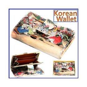 1b)민속후렌치지갑(중)tick-tock wallet(M)