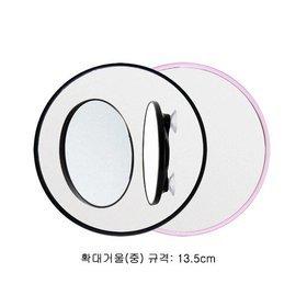 2b)면도용흡착식확대경shaving magnifier(중M/white)