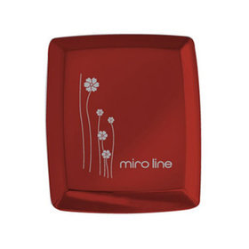 4)심플렛사각콤팩트거울(레드)red