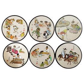 6)코스타(김홍도)coasters(kimhongdo)