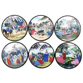 6)코스타(풍속도)coasters(korean landscape)