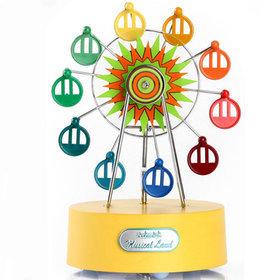 1)미니페리휠오르골miniferriswheel musicbox(yellow)