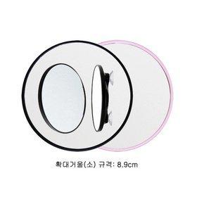 5b)면도용흡착식확대경shaving magnifier(소S/pink)