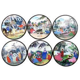 3)코스타(풍속도)coasters(korean landscape)
