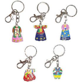 6)전통한복키홀더(5개)hanbok keyring(5pcs)