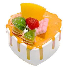 2)하트케이크오르골(오렌지) cake music box(orange)