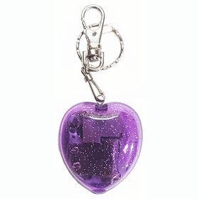 3)하트오르골키링(보라)heart musicbox (purple)