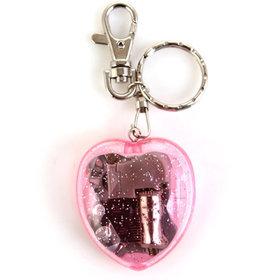 3)하트오르골키링(핑크)heart musicbox (pink)