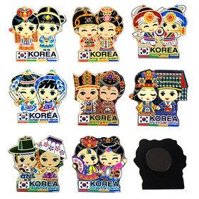5a)캐릭터아크릴자석8개 character magnet 8pcs