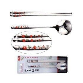 1a)홍매화수저셋red plum blossom spoon set