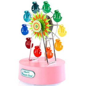 3)미니페리휠오르골(핑크)miniferriswheel(pink)