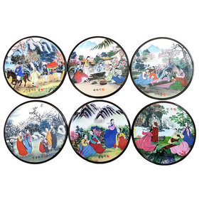 96)코스타(풍속도)coasters(korean landscape)