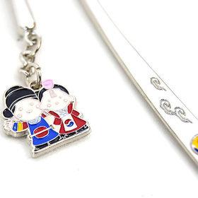 6)비녀커플책갈피(5개)couple metal bookmark(5pcs)