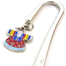 6)비녀한복책갈피(5개)hanbok metal bookmark(5pcs)