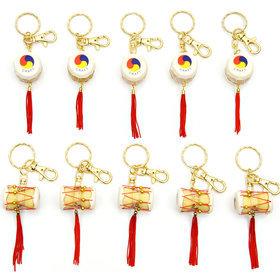 8)장구북열쇠고리janggo buk key ring(10개묶음10pcs)
