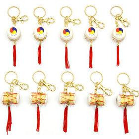 8)장구북열쇠고리(10개)janggo buk key ring(10pcs