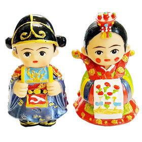 92)신랑신부미니인형brideNgroom mini doll