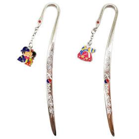 2)비녀메탈책갈피(10개)multi metal bookmark(10pcs)