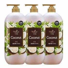 36) 더내추럴 코코넛 바디워시 900g 3개