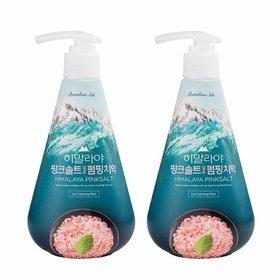 48) 핑크솔트 아이스 카밍 민트 펌핑치약 285g 2개