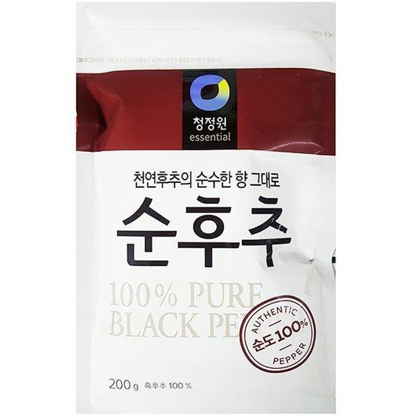 韓國代購|韓國批發-ibuy99|加工食品|调味料/调汁|调味酱|[清净园]胡椒/胡椒粉/后