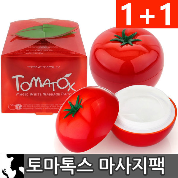 商品圖片,韓國代購|韓國批發-ibuy99|Tonymoly Tomatox Magic Massage Pack 2pcs(1+1)