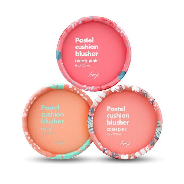 商品圖片,韓國代購 韓國批發-ibuy99 The Face Shop/Pastel/Cushion/Blusher/Pick 1/Lovely