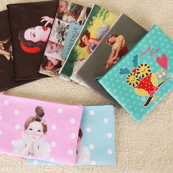 商品圖片,韓國代購 韓國批發-ibuy99 덤핑 사피아노3종파우치 화장품파우치 파우치