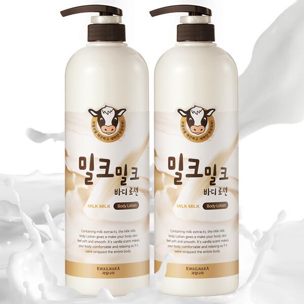 商品圖片,韓國代購 韓國批發-ibuy99 MILK PONGDANG Milk body lotion/body wash 1000ml X…